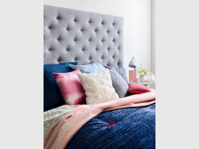 Une tête de lit moelleuse pour une chambre chaleureuse - Ambiances chaleur hiver