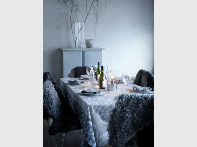 Une salle à manger hivernale mais douillette - Ambiances chaleur hiver