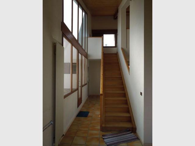 Avant rénovation, des cloisons superflues - Maison Asar Architectes