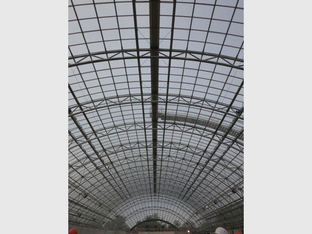 6.000 panneaux de verre - Zoo vincennes