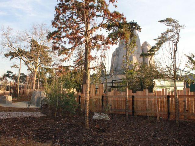La biozone Europe  - Serre tropicale au zoo de Vincennes