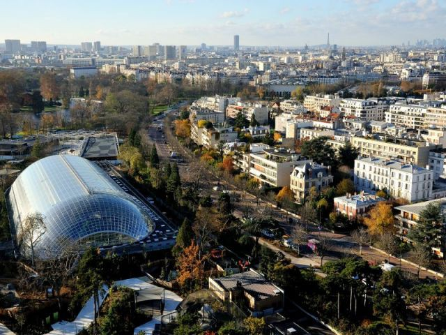Cinq biozones - Serre tropicale au zoo de Vincennes