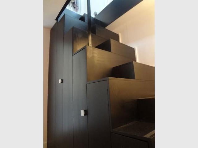 Escalier multifonctions - Géraldine Contet et Florent Amsellem