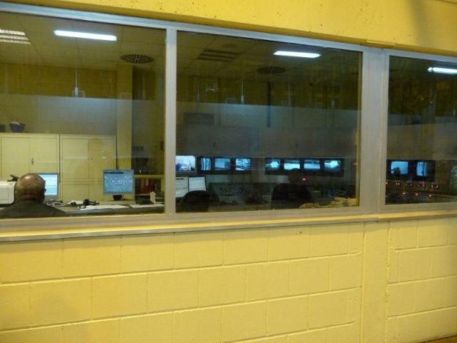 Centre de contrôle - Usine verre Guardian