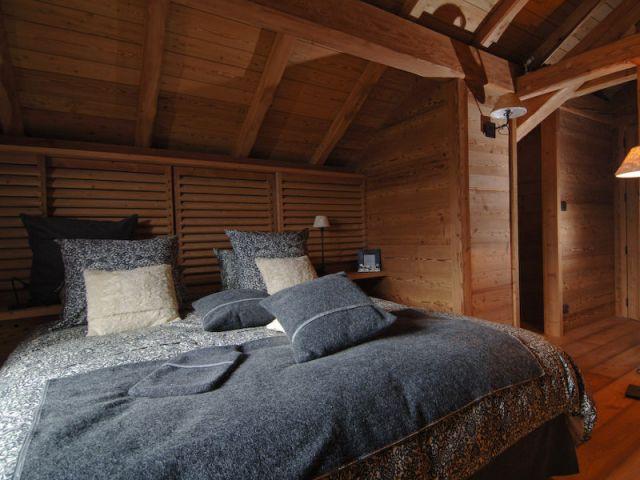 Une chambre façon Home cinema - Chalets Bayrou
