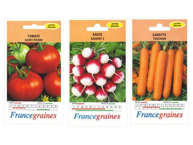 Les graines de légumes