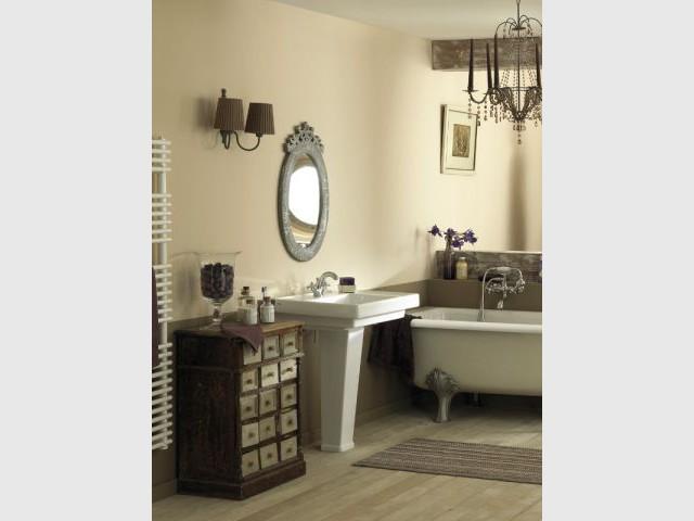 brossette salle de bain best agrandir avec une petite baignoire la salle de bains devient. Black Bedroom Furniture Sets. Home Design Ideas