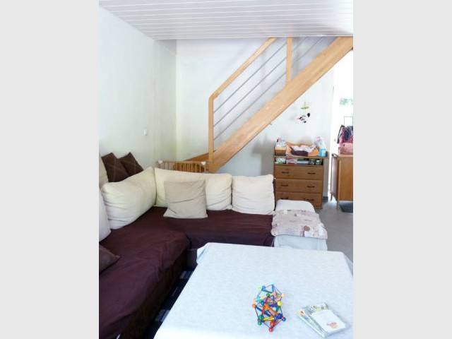 Garder un côté confortable à la pièce - Rénovation déco salon