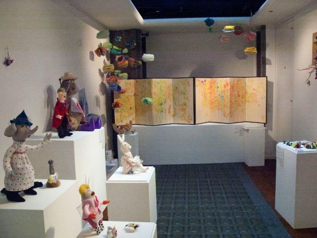 Des objets faits main en textile - Expo Kawaii