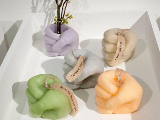 Rinn to Hitsuji, créatrice de bougies naturelles - Expo Kawaii