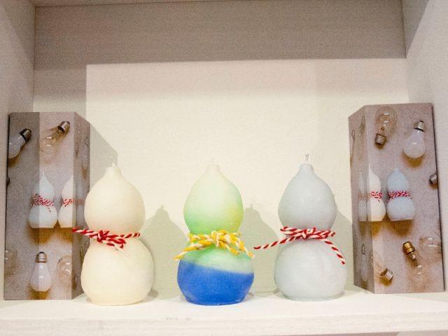 La suite de la collection de bougies - Expo Kawaii