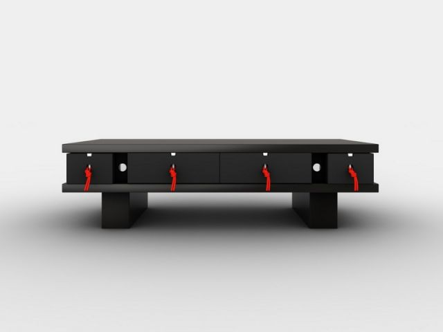 Table basse monoKrome - Mobikey - eGalHub