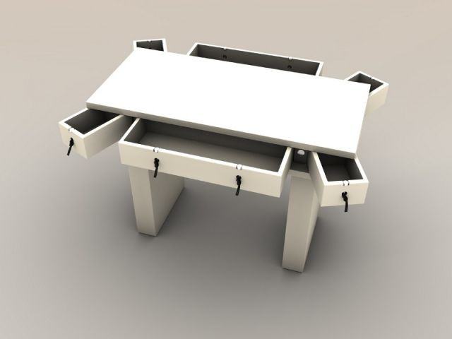 Commode double face - Mobikey - eGalHub