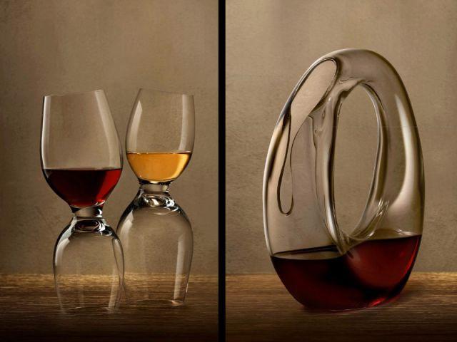La carafe et les verres de Ron Arad - M&O janvier 2014