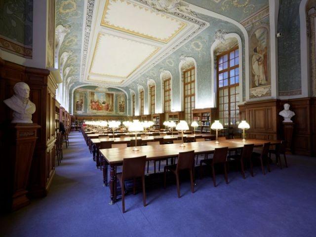 Rénovation de la Bibliothèque universitaire de la Sorbonne