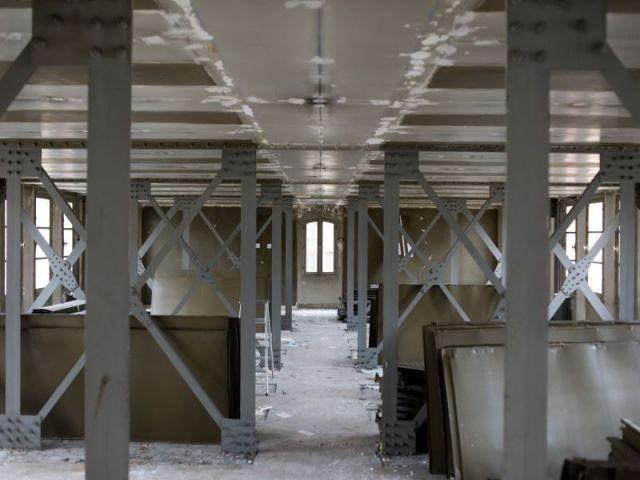 Vers la mise aux normes incendies  - Rénovation de la Bibliothèque universitaire de la Sorbonne