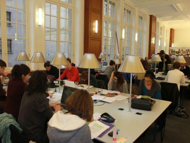 Salle Ernest Labrousse - Rénovation de la Bibliothèque universitaire de la Sorbonne