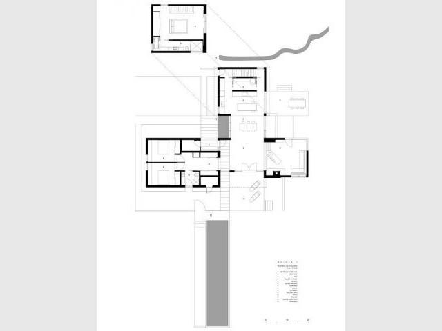 Plan masse - Maison T