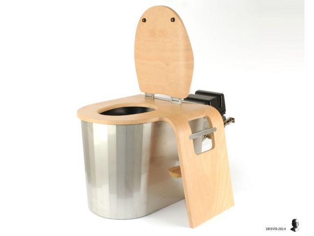 Toilettes Zircone, les toilettes sèches - Ecodomeo