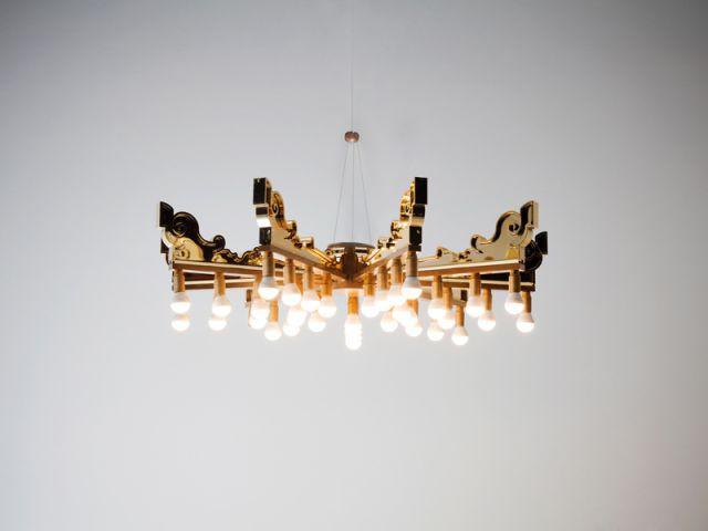 Lampe Bourgie par Patricia Urquiola