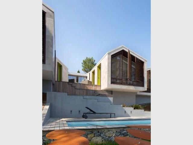 Entre-deux préservé - Maison Nourrigat-brion