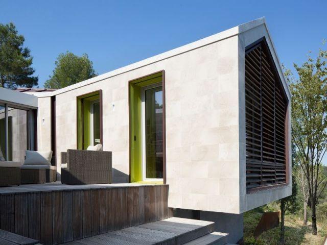 Terrasse protégée - Maison Nourrigat-brion