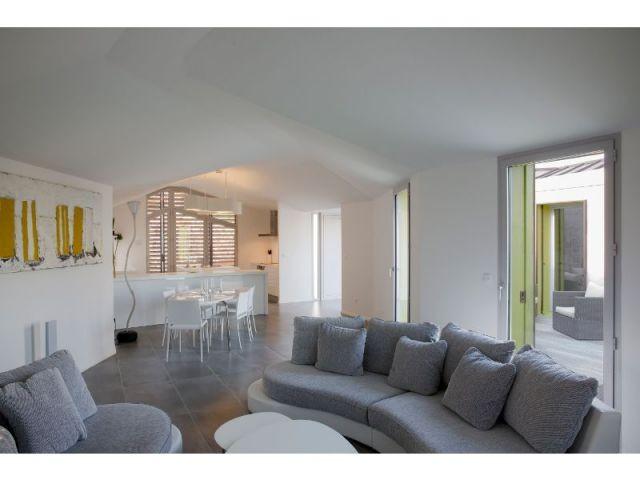 Espaces fluides - Maison Nourrigat-brion