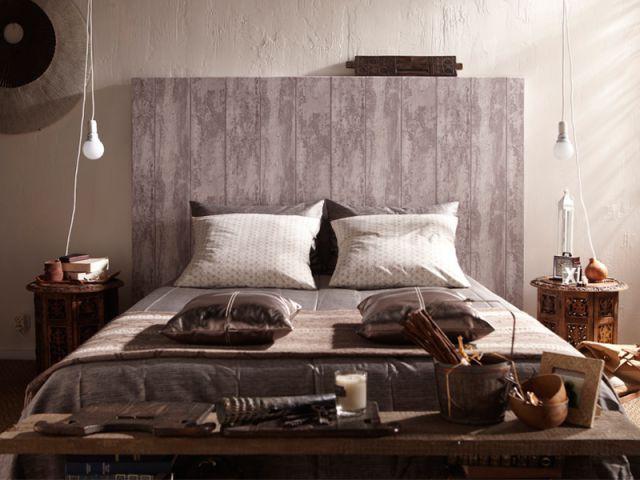 Habiller une tête de lit pour compléter un décor  - Leroy Merlin