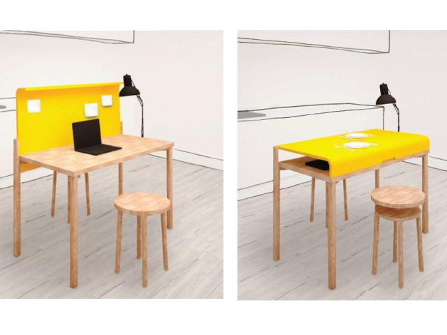 Projet FLIP THE TABLE - Calligaris