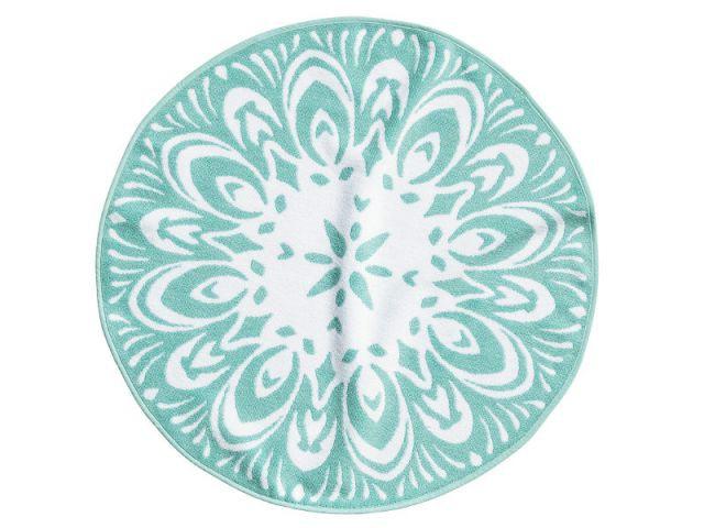 Un tapis de bain aux motifs envoûtants - Collection printemps-été 2014