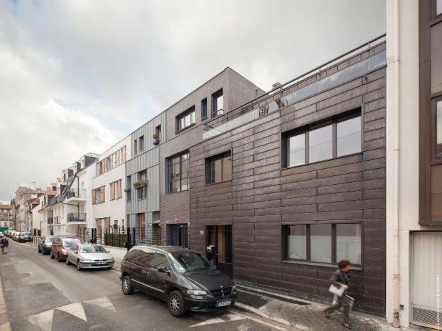 Côté rue Diaz... - Maisons Boulogne Goudchaux