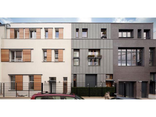 Mosaïque de façades - Maisons Boulogne Goudchaux