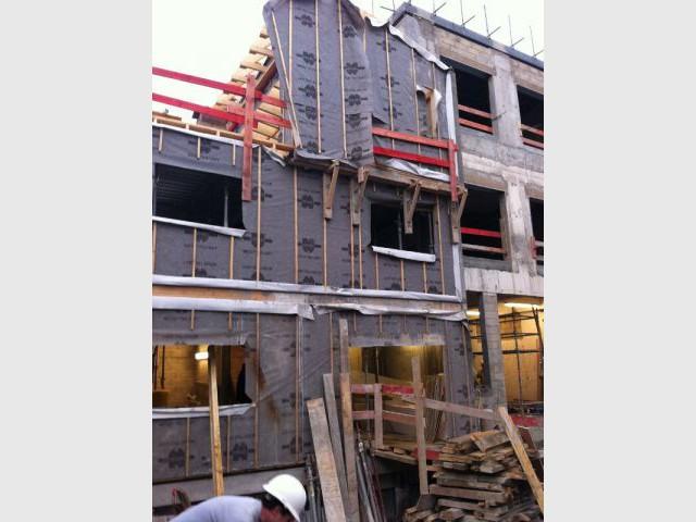 Façades en construction - Maisons Boulogne Goudchaux