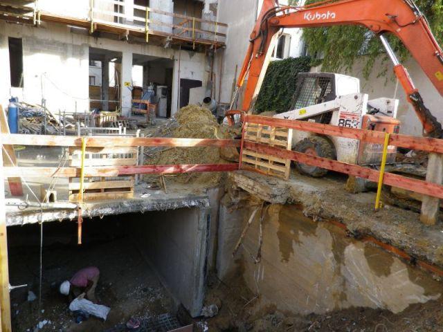 Parking en sous-sol - Maisons Boulogne Goudchaux