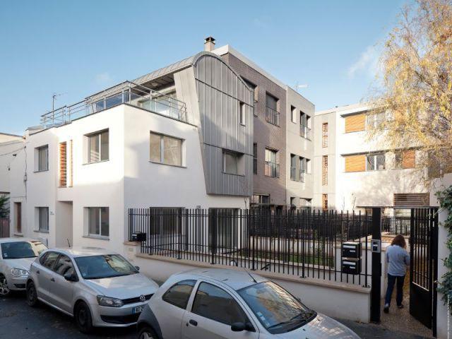 Entrée rue Reinhardt - Maisons Boulogne Goudchaux