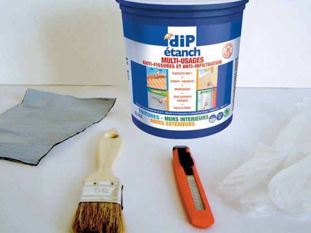 Le kit d'urgence clé en main avec un produit multi-usages - Dip Etanch