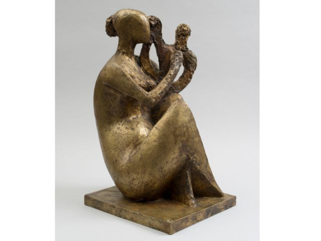 La sculpture en bronze de Chana Orloff