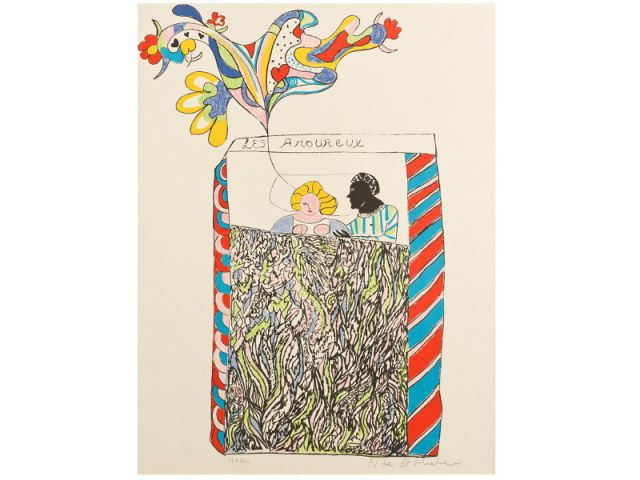 La lithographie de Niki de Saint Phalle