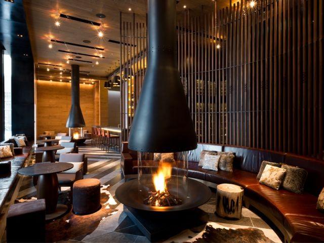 Modernité des aménagements intérieurs - Chedi Andermatt
