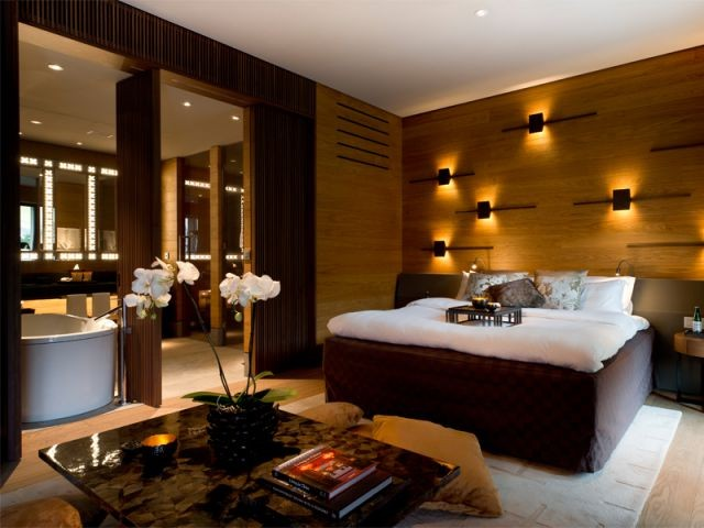 Chambres extrêmement modulables - Chedi Andermatt