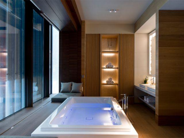 Un spa de 2.400 m2 - Chedi Andermatt