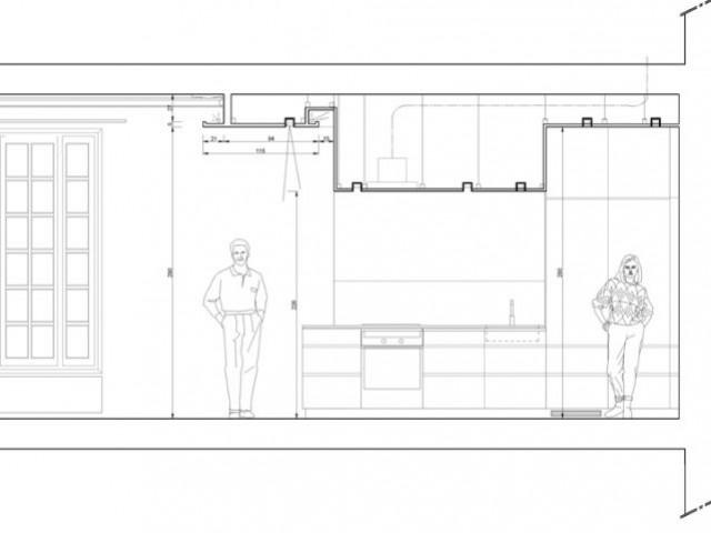 Des hauteurs sous plafond variables pour délimiter les espaces - Rénovation d'un T3 en T4