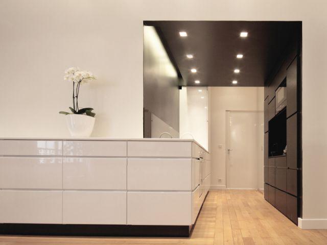 Trois espaces délimités - Rénovation d'un T3 en T4