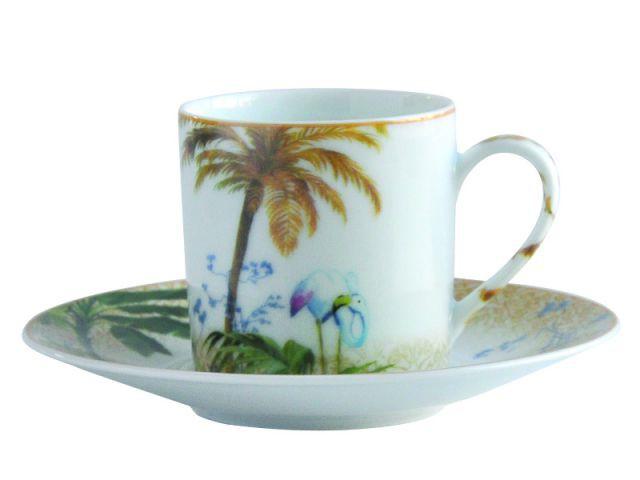 Tasse à café Tropiques - Bernardaud