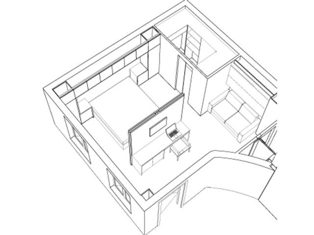Circulation facilitée partout  - Rénovation appartement