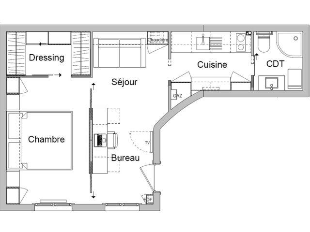Une organisation interne complètement revue - Rénovation appartement