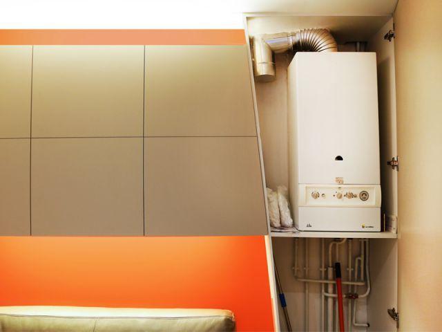 Placard sur-mesure pour le chauffe-eau - Michel Antraygues