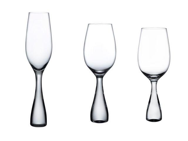Des verres à tige - Nude