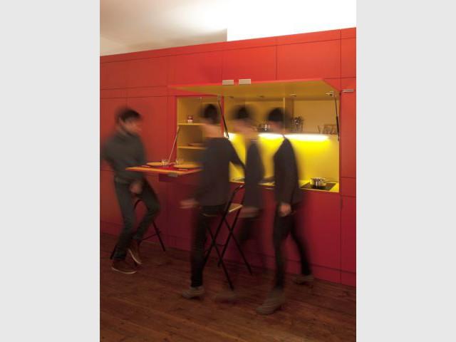 Un meuble complexe à élaborer - Gilles Sage