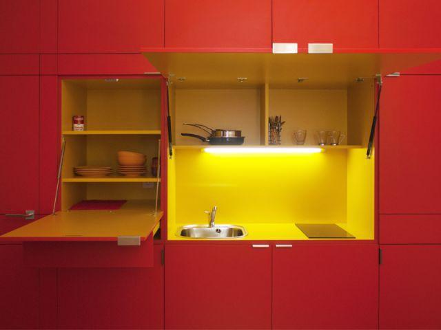 Une mini-cuisine bien équipée - Gilles Sage